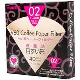 HARIO V60 Filter 02 [VCF-02-40M] - Kertas Filter Kopi